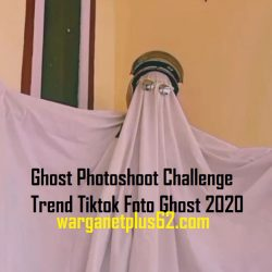 Ghost Photoshoot Challenge Trend Tiktok Foto Ghost 2020